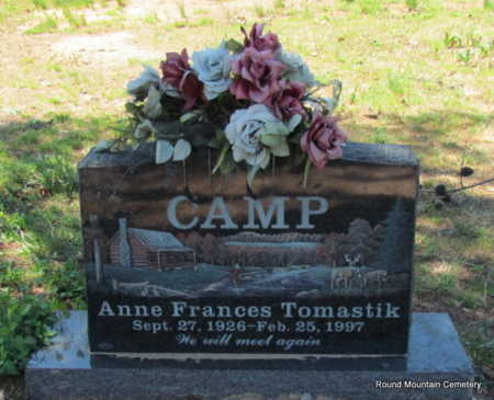 TOMASTIK CAMP, ANNE FRANCES - Faulkner County, Arkansas | ANNE FRANCES TOMASTIK CAMP - Arkansas Gravestone Photos