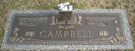 "CAMPBELL, ALVA E. ""BUD"" - Faulkner County, Arkansas | ALVA E. ""BUD"" CAMPBELL - Arkansas Gravestone Photos"