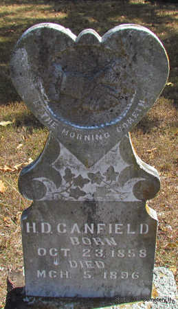 CANFIELD, H.D. - Faulkner County, Arkansas | H.D. CANFIELD - Arkansas Gravestone Photos