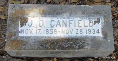 CANFIELD, J.D. - Faulkner County, Arkansas | J.D. CANFIELD - Arkansas Gravestone Photos