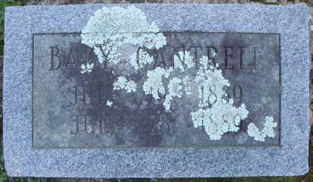 CANTRELL, BABY (1889) - Faulkner County, Arkansas | BABY (1889) CANTRELL - Arkansas Gravestone Photos