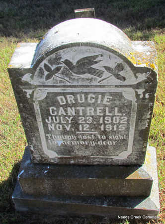 CANTRELL, DRUCIE - Faulkner County, Arkansas | DRUCIE CANTRELL - Arkansas Gravestone Photos