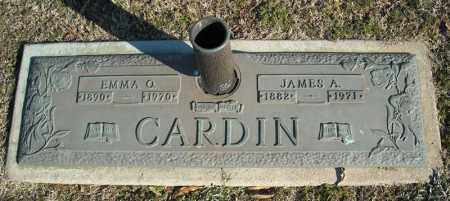 CARDIN, JAMES A. - Faulkner County, Arkansas | JAMES A. CARDIN - Arkansas Gravestone Photos