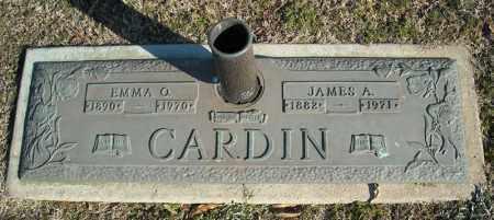 CARDIN, EMMA O. - Faulkner County, Arkansas | EMMA O. CARDIN - Arkansas Gravestone Photos