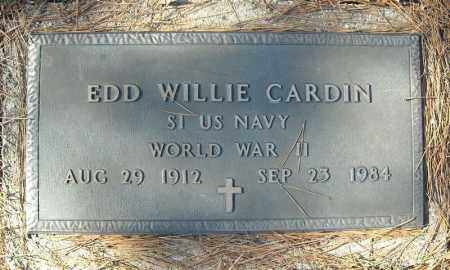 CARDIN (VETERAN WWII), EDD WILLIE - Faulkner County, Arkansas | EDD WILLIE CARDIN (VETERAN WWII) - Arkansas Gravestone Photos