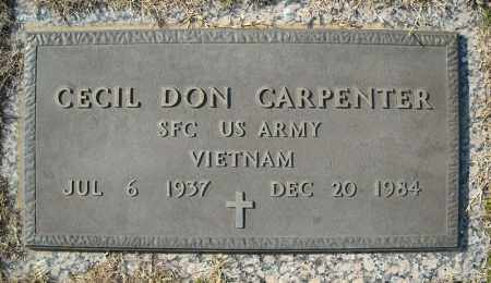 CARPENTER (VETERAN VIET), CECIL DON - Faulkner County, Arkansas | CECIL DON CARPENTER (VETERAN VIET) - Arkansas Gravestone Photos