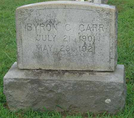 CARR, BYRON C. - Faulkner County, Arkansas | BYRON C. CARR - Arkansas Gravestone Photos
