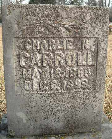 CARROLL, CHARLIE N. - Faulkner County, Arkansas | CHARLIE N. CARROLL - Arkansas Gravestone Photos