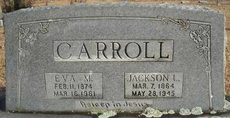 CARROLL, JACKSON L. - Faulkner County, Arkansas | JACKSON L. CARROLL - Arkansas Gravestone Photos