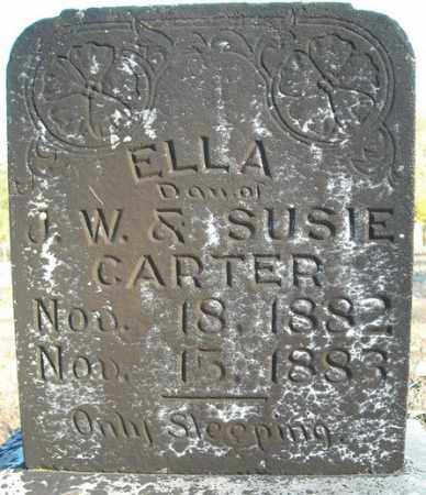 CARTER, ELLA - Faulkner County, Arkansas | ELLA CARTER - Arkansas Gravestone Photos