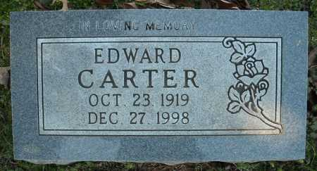 CARTER, EDWARD - Faulkner County, Arkansas | EDWARD CARTER - Arkansas Gravestone Photos