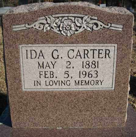 CARTER, IDA G. - Faulkner County, Arkansas | IDA G. CARTER - Arkansas Gravestone Photos