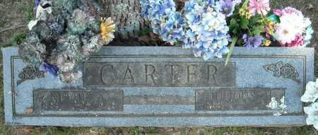 CARTER, NETTIE A. - Faulkner County, Arkansas | NETTIE A. CARTER - Arkansas Gravestone Photos