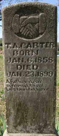 CARTER, T.A. - Faulkner County, Arkansas | T.A. CARTER - Arkansas Gravestone Photos
