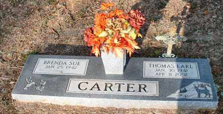 CARTER, THOMAS EARL - Faulkner County, Arkansas | THOMAS EARL CARTER - Arkansas Gravestone Photos