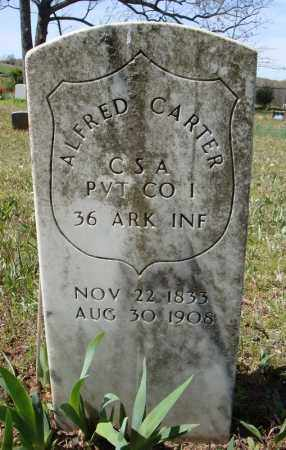 CARTER (VETERAN CSA), ALFRED - Faulkner County, Arkansas | ALFRED CARTER (VETERAN CSA) - Arkansas Gravestone Photos