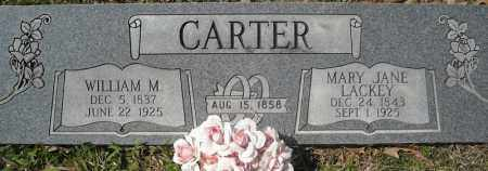 CARTER, WILLIAM M. - Faulkner County, Arkansas | WILLIAM M. CARTER - Arkansas Gravestone Photos