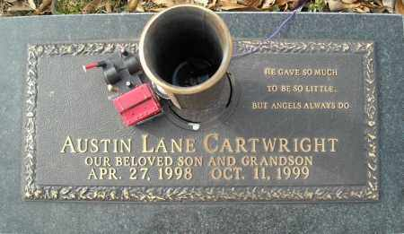 CARTWRIGHT, AUSTIN LANE - Faulkner County, Arkansas | AUSTIN LANE CARTWRIGHT - Arkansas Gravestone Photos