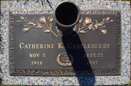 CASTLEBERRY, CATHERINE K. - Faulkner County, Arkansas | CATHERINE K. CASTLEBERRY - Arkansas Gravestone Photos