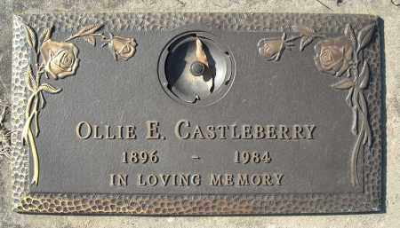 CASTLEBERRY, OLLIE E. - Faulkner County, Arkansas | OLLIE E. CASTLEBERRY - Arkansas Gravestone Photos