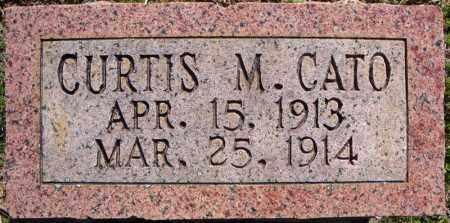 CATO, CURTIS M. - Faulkner County, Arkansas | CURTIS M. CATO - Arkansas Gravestone Photos