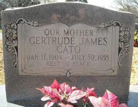 JAMES CATO, GERTRUDE - Faulkner County, Arkansas   GERTRUDE JAMES CATO - Arkansas Gravestone Photos