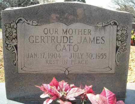 JAMES CATO, GERTRUDE - Faulkner County, Arkansas | GERTRUDE JAMES CATO - Arkansas Gravestone Photos