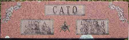 CATO, LUCY A. - Faulkner County, Arkansas | LUCY A. CATO - Arkansas Gravestone Photos