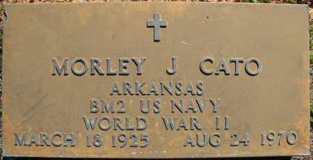 CATO (VETERAN WWII), MORLEY J - Faulkner County, Arkansas | MORLEY J CATO (VETERAN WWII) - Arkansas Gravestone Photos