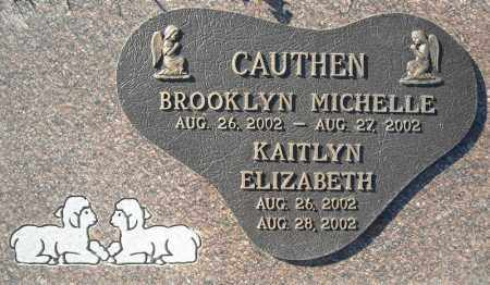 CAUTHEN, KAITLYN ELIZABETH - Faulkner County, Arkansas | KAITLYN ELIZABETH CAUTHEN - Arkansas Gravestone Photos