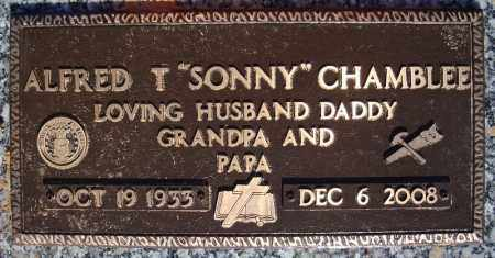 "CHAMBLEE (VETERAN), ALFRED T ""SONNY"" - Faulkner County, Arkansas | ALFRED T ""SONNY"" CHAMBLEE (VETERAN) - Arkansas Gravestone Photos"