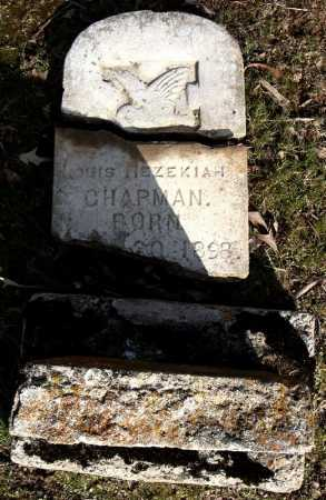 CHAPMAN, LOUIS HEZEKIAH - Faulkner County, Arkansas | LOUIS HEZEKIAH CHAPMAN - Arkansas Gravestone Photos