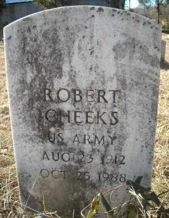 CHEEKS (VETERAN), ROBERT - Faulkner County, Arkansas | ROBERT CHEEKS (VETERAN) - Arkansas Gravestone Photos