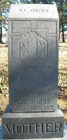 CHROUCH, ASLEA - Faulkner County, Arkansas | ASLEA CHROUCH - Arkansas Gravestone Photos