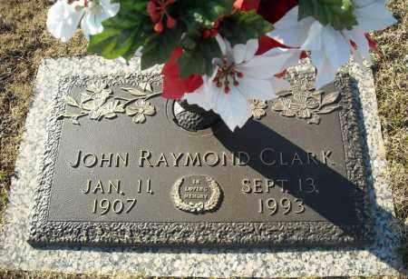 CLARK, JOHN RAYMOND - Faulkner County, Arkansas | JOHN RAYMOND CLARK - Arkansas Gravestone Photos