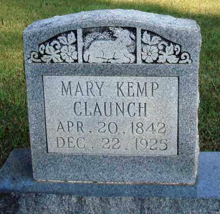 KEMP CLAUNCH, MARY - Faulkner County, Arkansas | MARY KEMP CLAUNCH - Arkansas Gravestone Photos