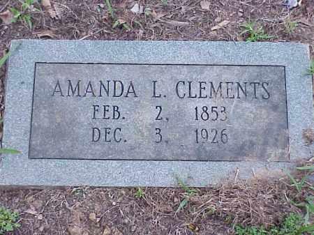 CLEMENTS, AMANDA - Faulkner County, Arkansas | AMANDA CLEMENTS - Arkansas Gravestone Photos