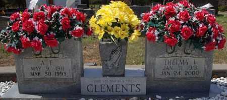 CLEMENTS, THELMA L. - Faulkner County, Arkansas | THELMA L. CLEMENTS - Arkansas Gravestone Photos