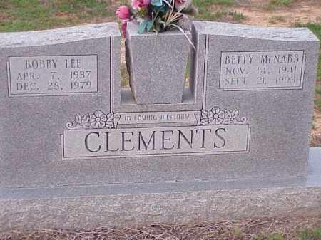 CLEMENTS, BOBBY LEE - Faulkner County, Arkansas | BOBBY LEE CLEMENTS - Arkansas Gravestone Photos