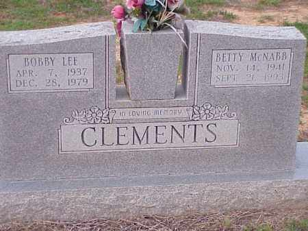 CLEMENTS, BETTY - Faulkner County, Arkansas | BETTY CLEMENTS - Arkansas Gravestone Photos