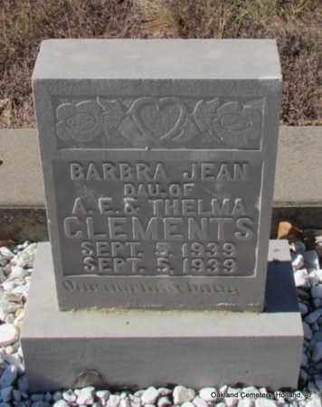 CLEMENTS, BARBRA JEAN - Faulkner County, Arkansas | BARBRA JEAN CLEMENTS - Arkansas Gravestone Photos
