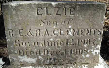 CLEMENTS, ELZIE - Faulkner County, Arkansas | ELZIE CLEMENTS - Arkansas Gravestone Photos