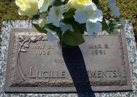 CLEMENTS, LUCILLE - Faulkner County, Arkansas | LUCILLE CLEMENTS - Arkansas Gravestone Photos