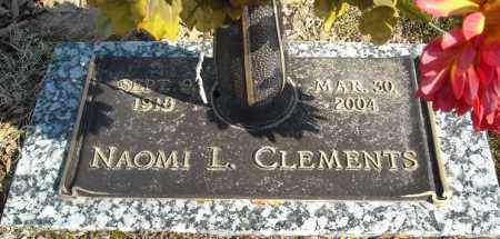 CLEMENTS, NAOMI L. - Faulkner County, Arkansas | NAOMI L. CLEMENTS - Arkansas Gravestone Photos