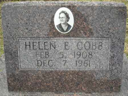 COBB, HELEN E. - Faulkner County, Arkansas   HELEN E. COBB - Arkansas Gravestone Photos