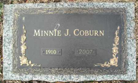 COBURN, MINNIE J. - Faulkner County, Arkansas | MINNIE J. COBURN - Arkansas Gravestone Photos