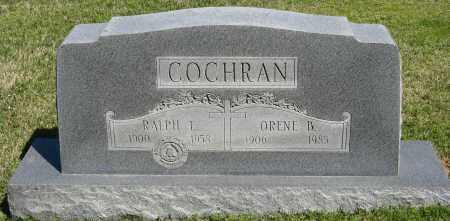 COCHRAN, ORENE B. - Faulkner County, Arkansas | ORENE B. COCHRAN - Arkansas Gravestone Photos
