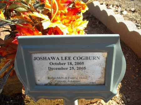 COGBURN, JOSHAWA LEE - Faulkner County, Arkansas | JOSHAWA LEE COGBURN - Arkansas Gravestone Photos
