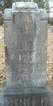 COKER, MARY O. - Faulkner County, Arkansas | MARY O. COKER - Arkansas Gravestone Photos