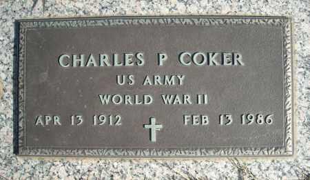 COKER (VETERAN WWII), CHARLES P - Faulkner County, Arkansas | CHARLES P COKER (VETERAN WWII) - Arkansas Gravestone Photos